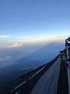 富士山登頂雑記その2(吉田ルート:お奨め情報も!)