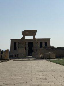 エジプト旅行記9、デンデラ神殿編
