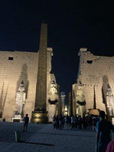 エジプト旅行記5、ルクソール神殿編