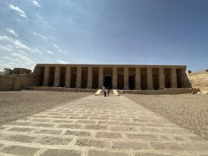 エジプト旅行記8、アビドス神殿編