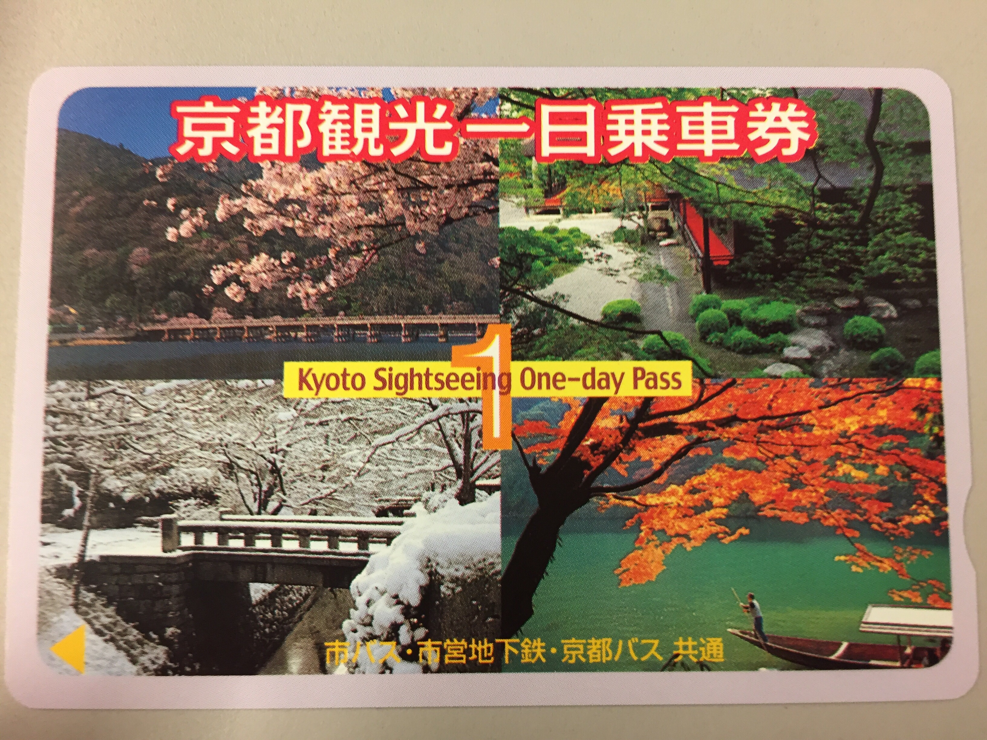 京都観光1日(2日)乗車券の券売機の場所【備忘録】
